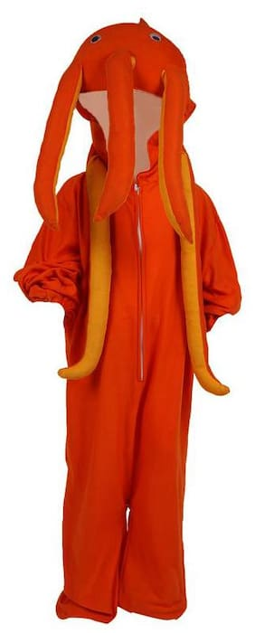 CHANDU KI DUKAN Boys Costumes Costume - Orange