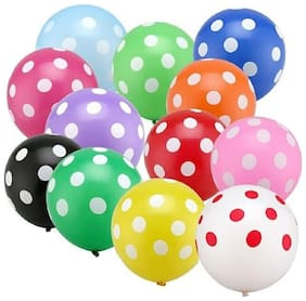 Charismacart Polka Dots Balloon (pack of 100)