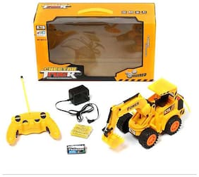 CHEETAH R/C TRUCK (JCB) - YELLOW