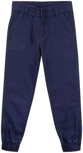 CHEROKEE Baby boy Cotton Solid Pyjama - Blue