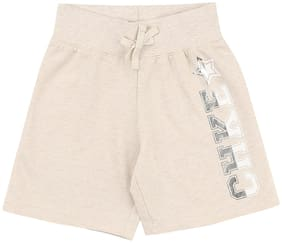 CHEROKEE Baby girl Cotton Solid Shorts - White