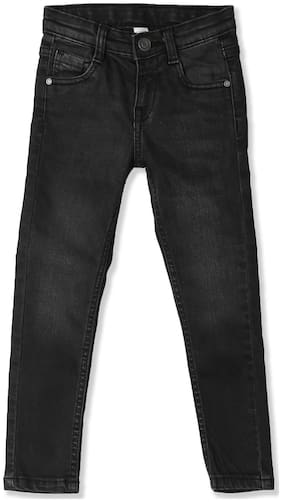 Cherokee Black Girls Slim Fit Washed Jeans