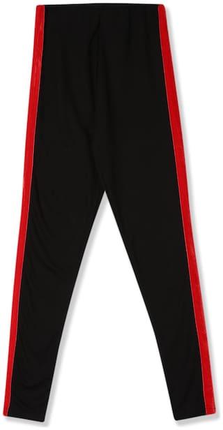 CHEROKEE Blended Solid Leggings - Black