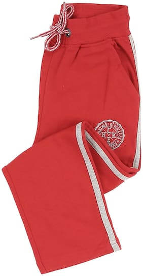 CHEROKEE Boy Cotton Track pants - Red