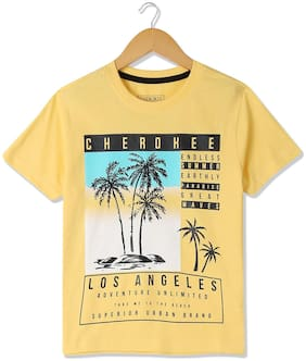 Cherokee Boys Short Sleeve Printed T-Shirt
