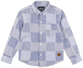 Cherokee Boys Patchwork Check Shirt