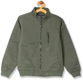 CHEROKEE Boy Cotton Solid Winter jacket - Green