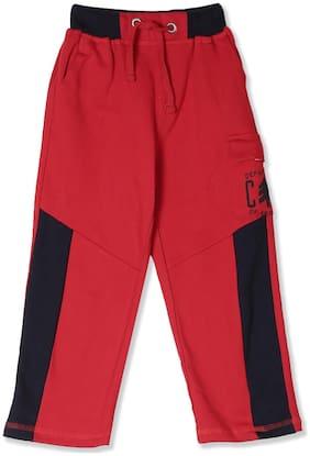 CHEROKEE Boy Cotton Track pants - Red
