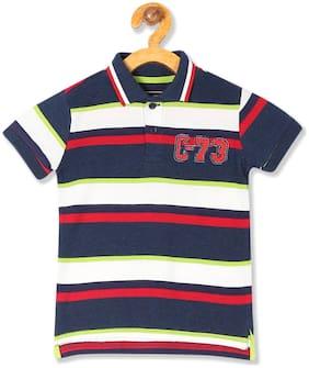 CHEROKEE Boy Cotton Striped T-shirt - Multi
