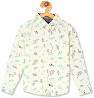 CHEROKEE Boy Cotton Printed Shirt Yellow