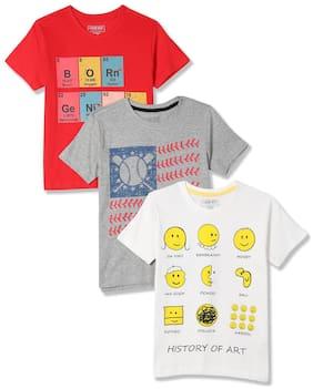 CHEROKEE Boy Cotton Printed T-shirt - Multi