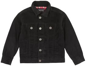 CHEROKEE Boy Cotton Solid Winter jacket - Black
