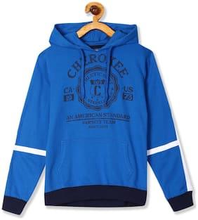CHEROKEE Boy Cotton Printed Sweatshirt - Blue