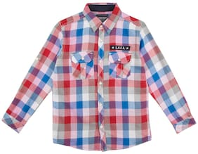 CHEROKEE Boy Cotton Checked Shirt Multi