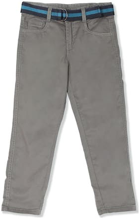 CHEROKEE Boy Solid Trousers - Grey