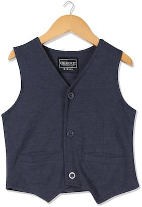 CHEROKEE Boy Cotton Solid Winter jacket - Blue
