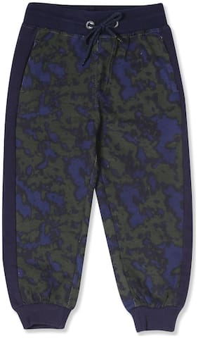 CHEROKEE Boy Cotton Track pants - Green