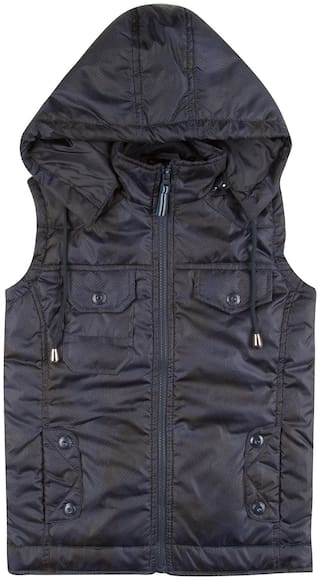 CHEROKEE Boy Polyester Printed Winter jacket - Blue