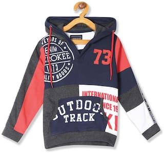 CHEROKEE Boy Cotton Colorblocked Sweatshirt - Multi