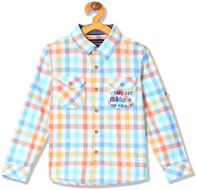 CHEROKEE Boy Cotton Checked Shirt Multi