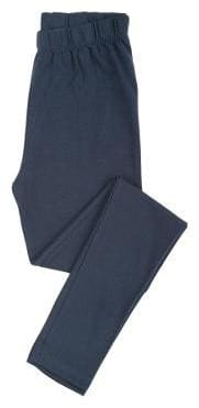 CHEROKEE Cotton Solid Leggings - Blue