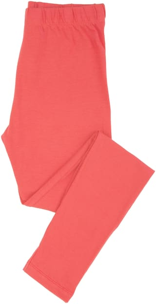CHEROKEE Cotton Solid Leggings - Pink