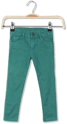 CHEROKEE Cotton Girls Slim Fit Cotton Stretch Jeans