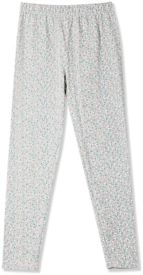 CHEROKEE Cotton Printed Leggings - Grey