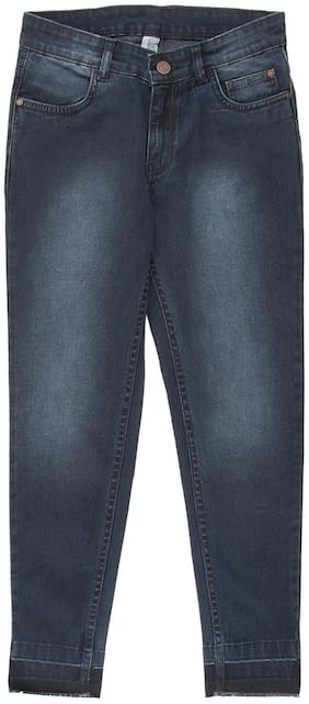 CHEROKEE Cotton Girls Stone Washed Jeans