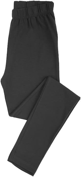 CHEROKEE Cotton Solid Leggings - Black