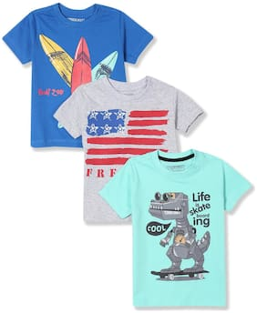 CHEROKEE Cotton Printed T shirt for Baby Boy - Multi
