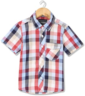 CHEROKEE Cotton Checked Shirt for Baby Boy - Multi