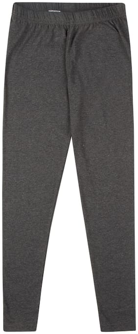 CHEROKEE Cotton blend Solid Leggings - Grey