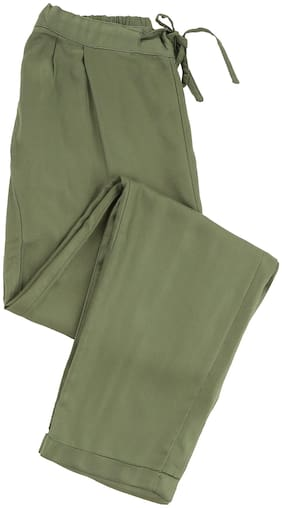 CHEROKEE Girl Viscose Trousers - Green