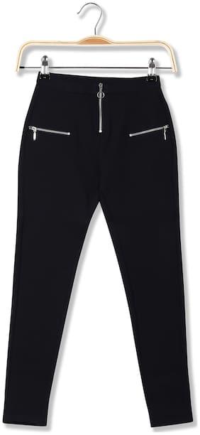 CHEROKEE Rayon Solid Leggings - Blue