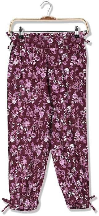 CHEROKEE Girl Cotton Trousers - Red