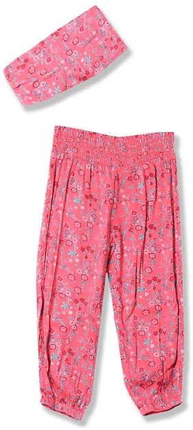 CHEROKEE Girl Viscose Track pants - Pink