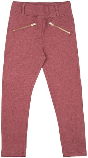 CHEROKEE Girl Cotton blend Trousers - Red