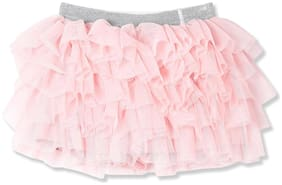 CHEROKEE Girl Cotton Solid Skorts - Pink