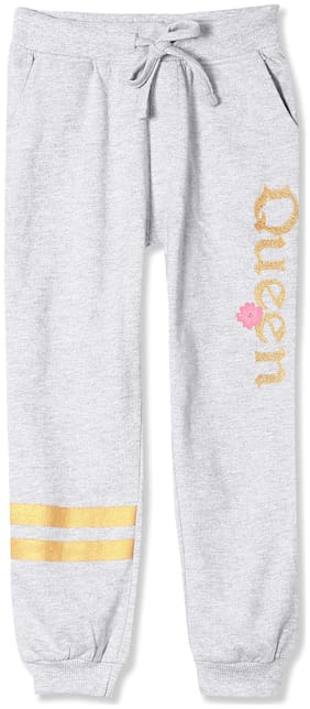 CHEROKEE Girl Cotton Trousers - Grey
