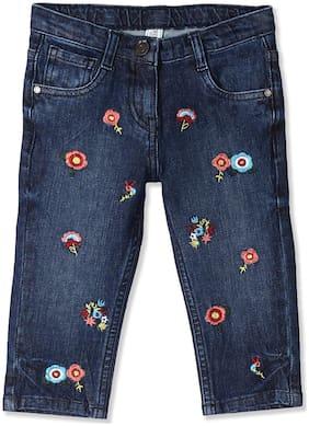 Blue Capri Shorts