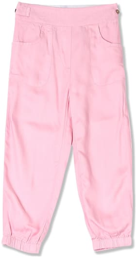 CHEROKEE Girl Viscose Trousers - Pink