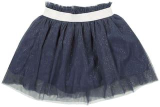 CHEROKEE Girl Polyester Embellished Flared skirt - Blue