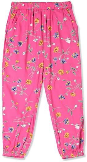 CHEROKEE Girl Rayon Trousers - Pink