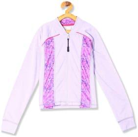 CHEROKEE Girl Polyester Printed Sweatshirt - Purple