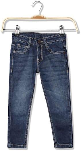 Cherokee Girls Slim Fit Mid Rise Jeans