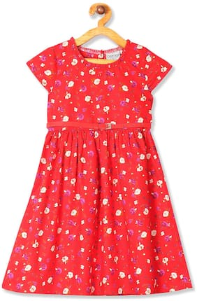 Red Princess Frock
