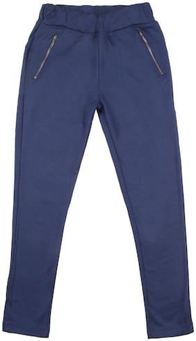 CHEROKEE Viscose Solid Leggings - Blue