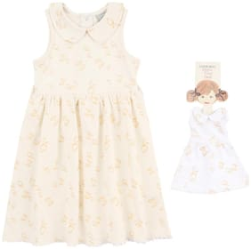 White Collar Frock