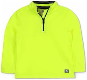 Cherry Crumble By Nitt Hyman Baby boy Polyester Solid Sweatshirt - Multi